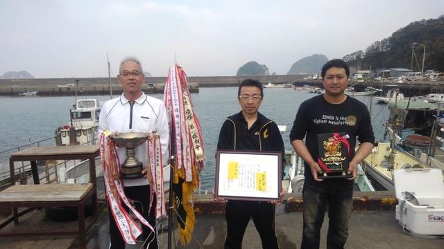 県釣連盟クラブ対抗チヌ 阿波一風が団体優勝.JPG